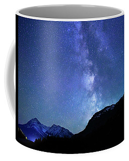 Night Sky In David Thomson Country Coffee Mug