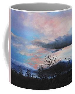 Coffee Mug featuring the painting Night Sky by M Diane Bonaparte
