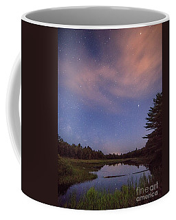 Night Sky Over Maine Coffee Mug