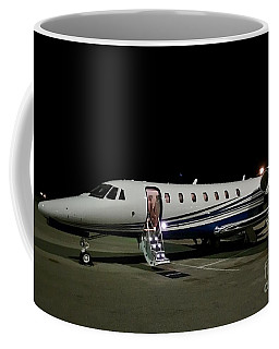 Coffee Mug featuring the digital art Night Time At Tallahassee by James Weatherly