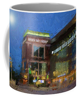 Night Time Lambeau Coffee Mug