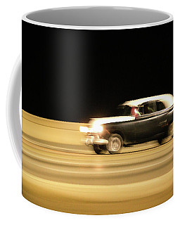 Night Time On The Malecon Coffee Mug by Michael Nowotny