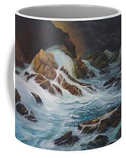 Night Time Sea Coffee Mug