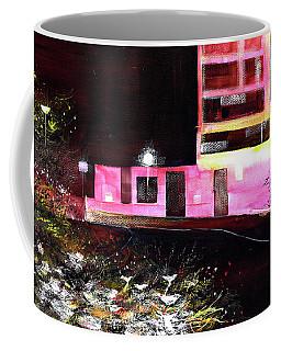 Coffee Mug featuring the painting Night Walk by Anil Nene