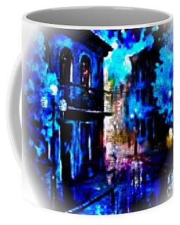 Night Walking In New Orleans Coffee Mug