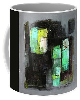 Texture Of Night Painting Coffee Mug by Behzad Sohrabi