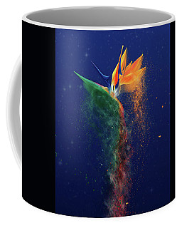 Coffee Mug featuring the digital art Nightbird by Kenneth Armand Johnson