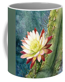 Nightblooming Cereus Cactus Coffee Mug