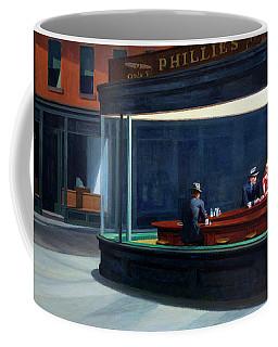 Nighthawks By Edward Hopper Coffee Mug