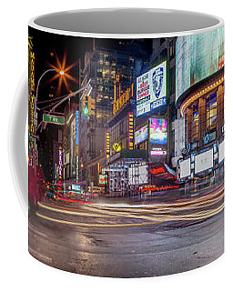 Nights On Broadway Coffee Mug