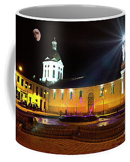 Nighttime At San Sebastian Coffee Mug by Al Bourassa