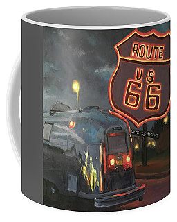 Nighttime Cruise Coffee Mug