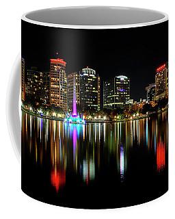 Nighttime Lake Eloa Coffee Mug