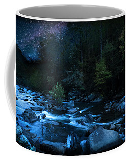 Nighttime On The Cheoah River  Coffee Mug