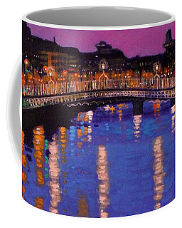Nighttown Ha Penny Bridge Dublin Coffee Mug