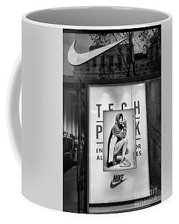 Nike Display Street Photo Black Retail Store  Coffee Mug
