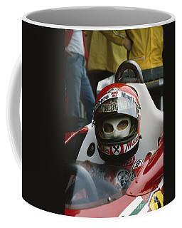 Niki Lauda. 1977 Austrian Grand Prix Coffee Mug
