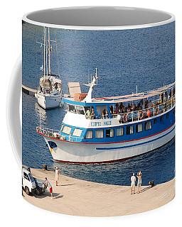 Nikos Express Ferry At Halki Coffee Mug