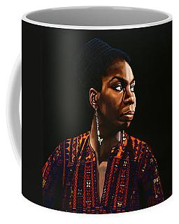 Nina Simone Painting Coffee Mug