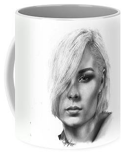 Nina Nesbitt Drawing By Sofia Furniel Coffee Mug by Sofia Furniel
