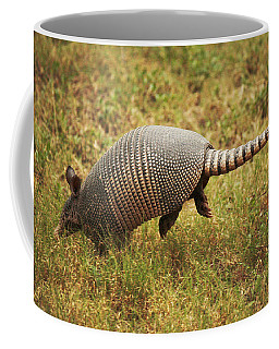 Nine-banded Armadillo Jumping Coffee Mug