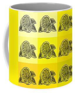 Nine Shades Of Lemon Coffee Mug
