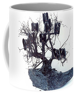 Nine Vultures In A Tree Coffee Mug