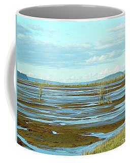 Nisqually Looking North Coffee Mug