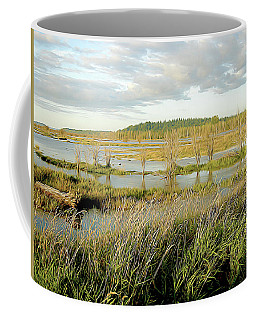 Nisqually Tide Coming In Coffee Mug