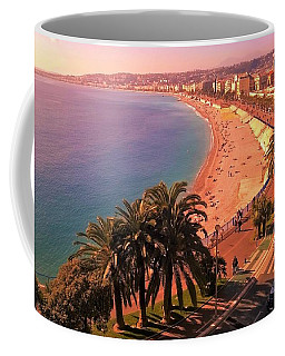 Nizza By The Sea Coffee Mug
