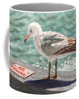 No Fishing Coffee Mug