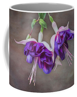 Purple Fuchsia Coffee Mug