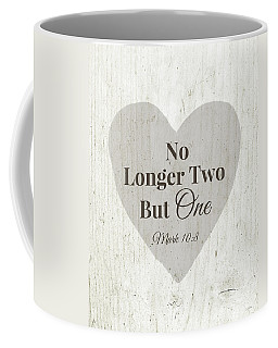No Longer Two- Art By Linda Woods Coffee Mug