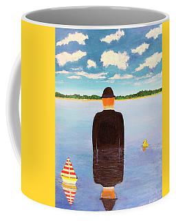 No Man Is An Island Coffee Mug by Thomas Blood