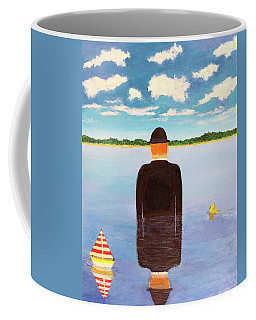 No Man Is An Island Coffee Mug