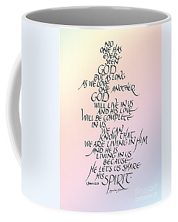 No One Has Seen God Coffee Mug
