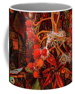 Coffee Mug featuring the digital art No One Would Have Believed by Steve Taylor