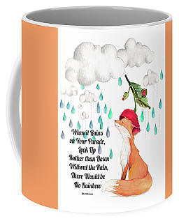 Coffee Mug featuring the digital art No Rain On My Parade by Colleen Taylor