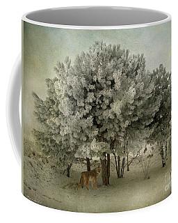 No Regrets Coyote Coffee Mug