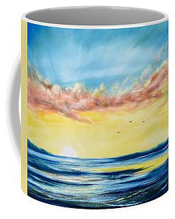 No Stress - Sunset Painting Coffee Mug