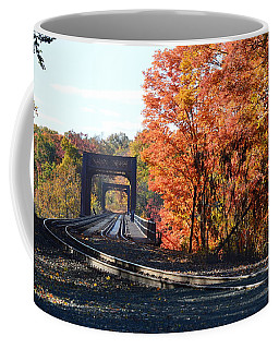 No Train Coming Coffee Mug
