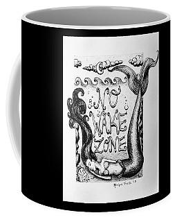 No Wake Zone, Mermaid Coffee Mug