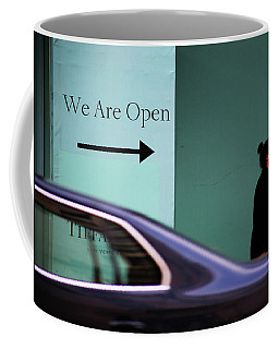 No We Are Closed  Coffee Mug by Empty Wall
