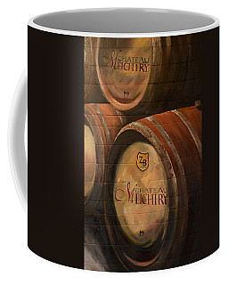 No Wine Before It's Time - Barrels-chateau Meichtry Coffee Mug