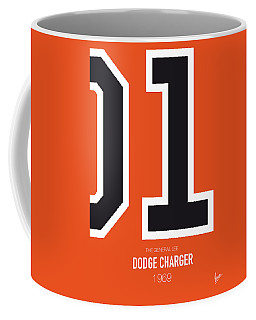 No001 My The Dukes Of Hazard Minimal Movie Car Poster Coffee Mug