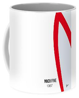 No008 My Speed Racer Minimal Movie Car Poster Coffee Mug