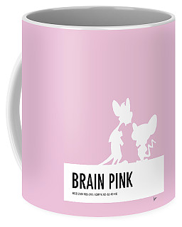 No01 My Minimal Color Code Poster Pinky And The Brain Coffee Mug