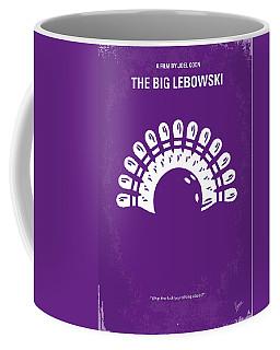 No010 My Big Lebowski Minimal Movie Poster Coffee Mug