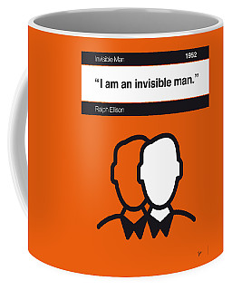 No010-my-invisible Man-book-icon-poster Coffee Mug