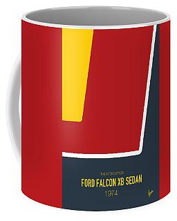 No011 My Mad Max Minimal Movie Car Poster Coffee Mug